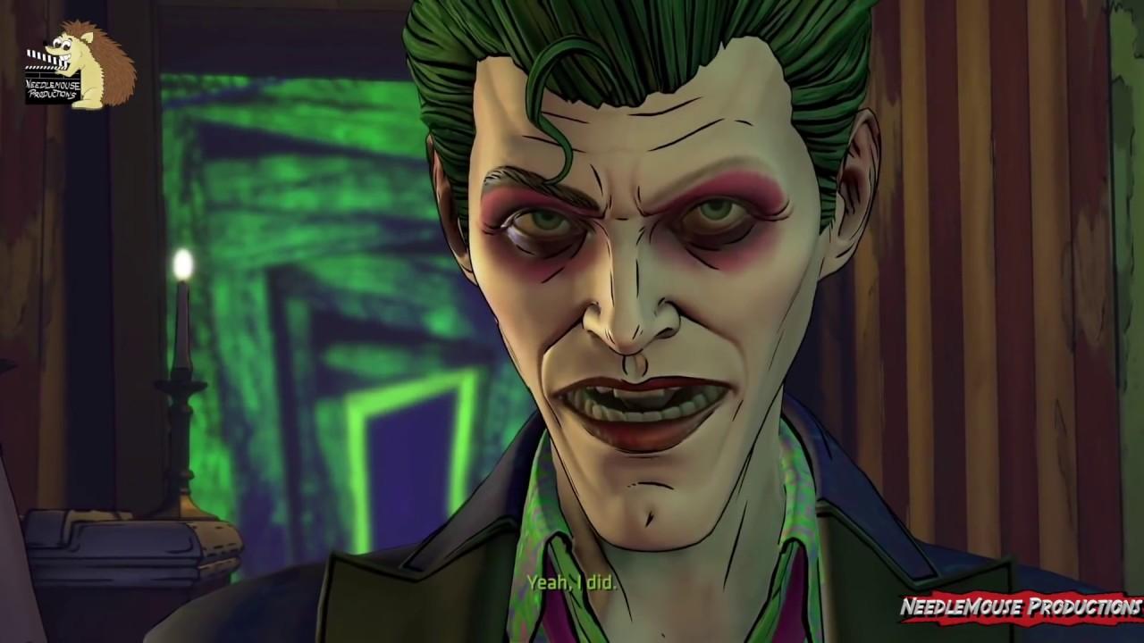 telltale batman season 2 ep 5 villain joker ending youtube