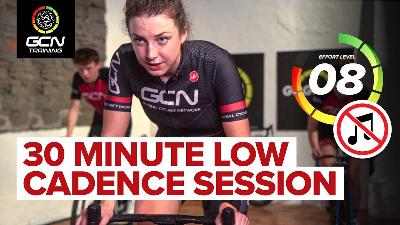 Leg Burner! 30 Minute Cycling Workout Without Music 🔇