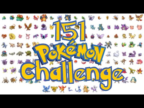 151 POKEMON CHALLENGE ! TAG POKEMON !