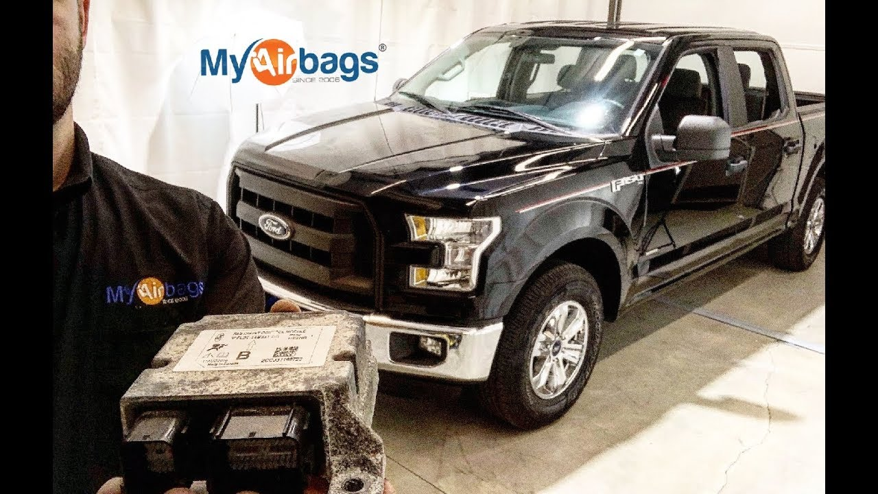 FORD F-150 AIRBAG SRS LOCATION RCM - RESTRAINT CONTROL MODULE & RESET -  MyAirbags com