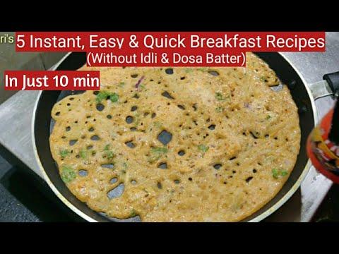 ఇడ్లీ-పిండి,దోశపిండి-లేకపోయినా-instant-గా,తొందరగా-5-రకాల-టిఫిన్స్-ఇలాచేసుకోండి/5-breakfast-recipes