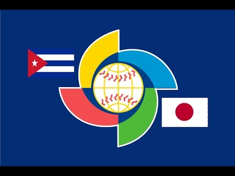 2017 World Baseball Classic: Japan vs Cuba Highlights