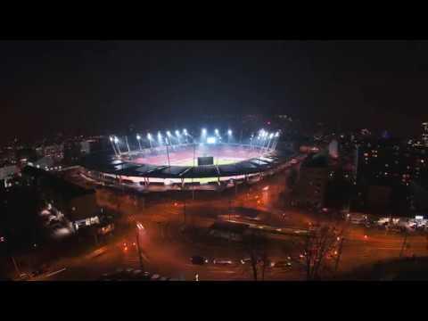 ABB keeps the floodlights shining at the Letzigrund Stadium, Zurich