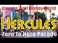 Hercules Parade Vintage Walt Disney World Hollywood Studios (MGM Studios) NEW HD EDIT