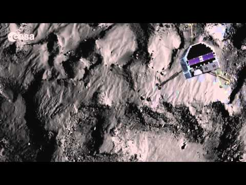 Daring Comet Landing Shown In New Animation