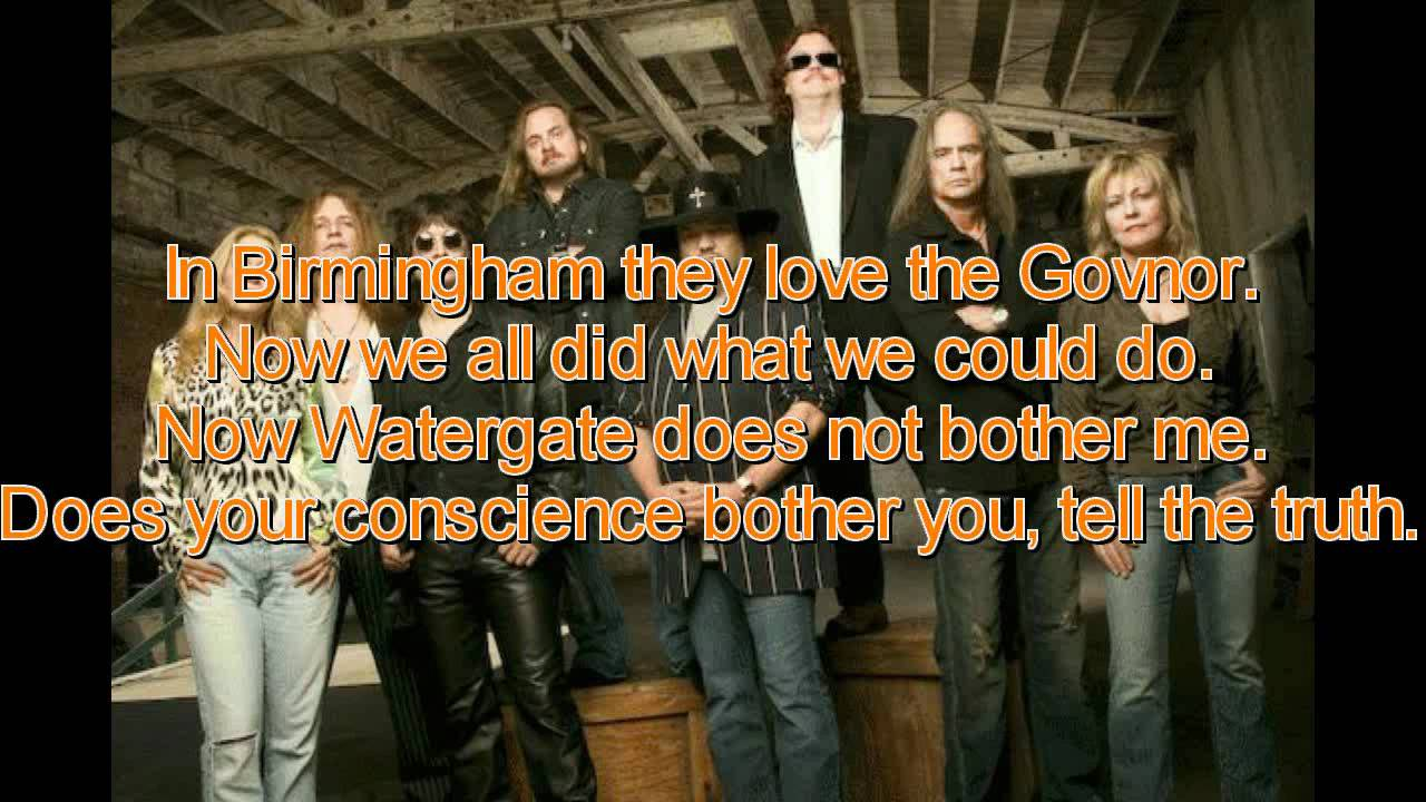 And i think it's a sin, yes. Lynyrd Skynyrd Sweet Home Alabama Lyrics On Screen Youtube