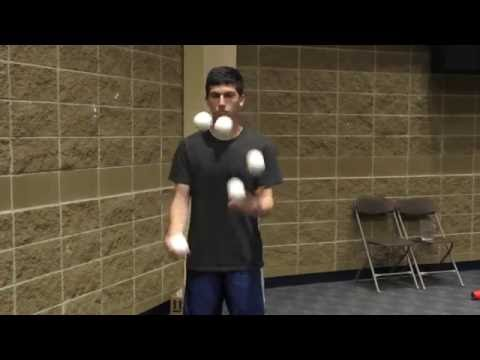 5 ball speed juggling - Matan Presberg - Former World Record