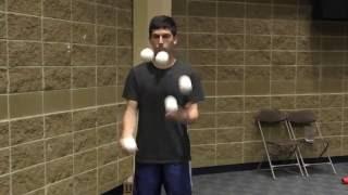 5 ball speed juggling - Matan Presberg - Former World Record