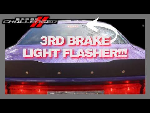 Challenger 3rd Brake Light Flasher Install - Plug & Play