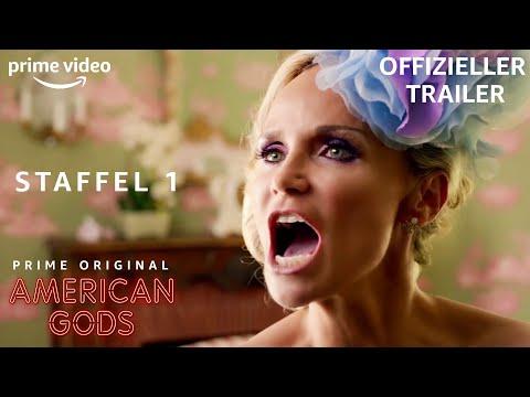 American Gods | NEUER offizieler TRAILER | AMAZON EXCLUSIVE Serie