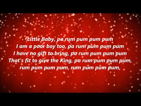 The Little Drummer Boy (Lyrics)