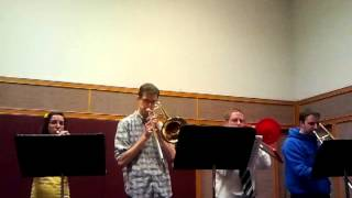 """Hark All Ye Nations""  A Brass Quartet"