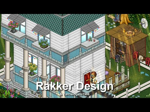 How To Build A Habbo American House Youtube