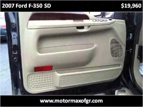 2007 ford f 350 sd used cars grand rapids mi youtube. Black Bedroom Furniture Sets. Home Design Ideas