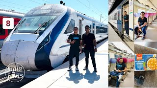 Train 18 / Vande Bharat Express Executive Class Journey from Katra to Ambala