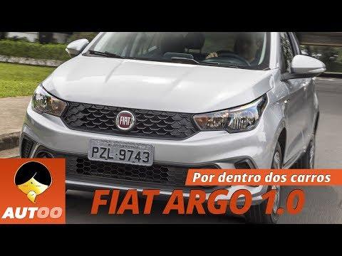 AUTOO mostra mais detalhes do Fiat Argo Drive 1.0
