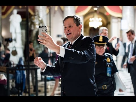 Heard on the Hill This Week: Steve Daines' Joint Session Snap Story, Tim Scott's Press Dinner Jokes