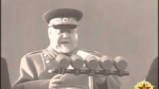 7 ноября 1953г. Москва. Красная площадь. Военный парад.