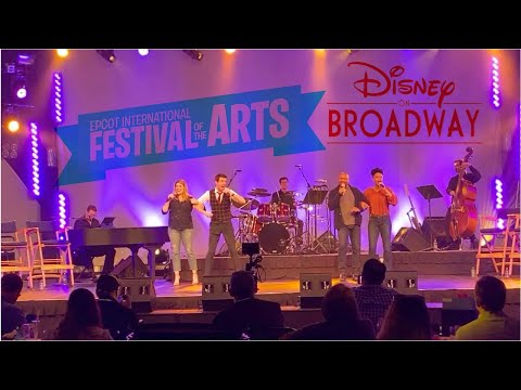 Epcot Festival Of The Arts 2020 Disney On Broadway Concert Media Preview Youtube