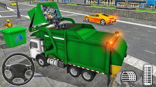Garbage Truck Driving Simulator 2020 - Recycling Truck Driver - Android Gameplay screenshot 1