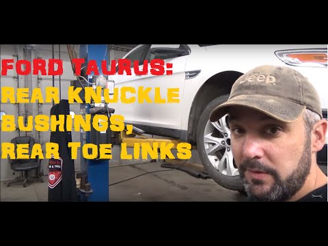 Ford Taurus: Replace Rear Knuckle Bushings & Rear Toe Links