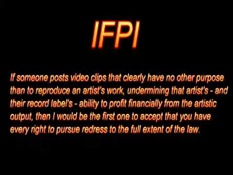 IFPI Copyright Nazis! UPLOAD-SAFE MIRROR
