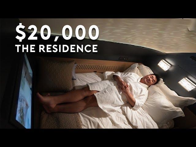 The 20,000 Residence on Etihad A380