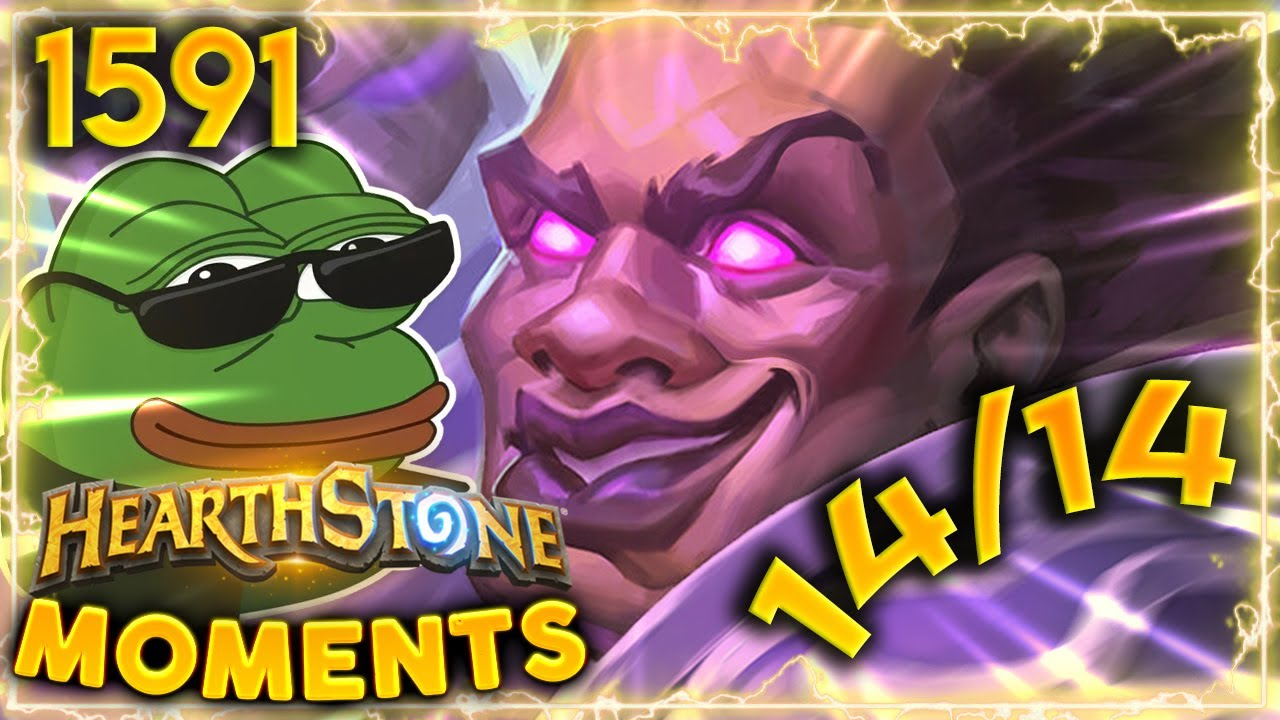 The GIBBERLING DREAM! 14/14 Stats Turn ONE | Hearthstone Daily Moments Ep.1591