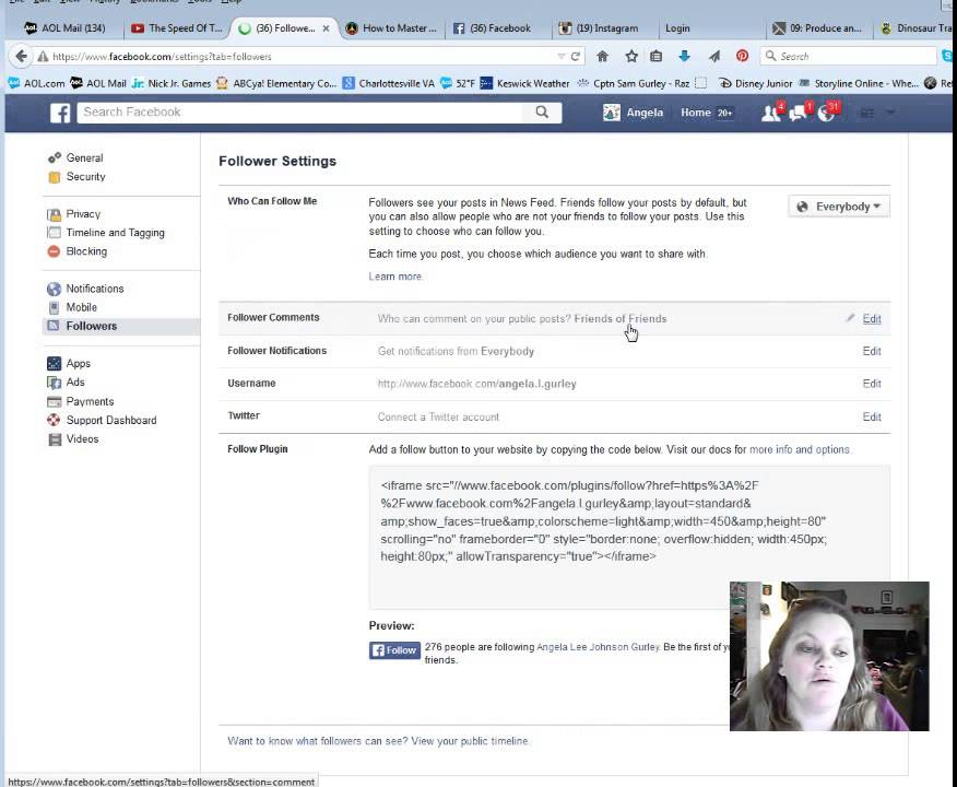 Add a Follow Button to Your Facebook Page