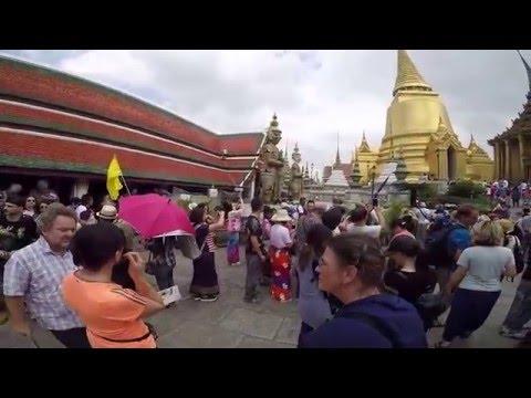 Bangkok Thailand - Wat Phra Kaew and the Grand palace