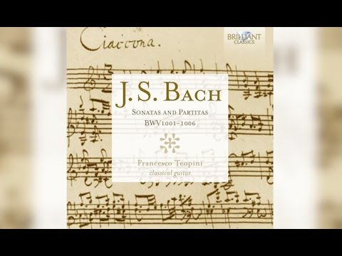 J.S. Bach: Sonatas and Partitas for Classical Guitar (Full A