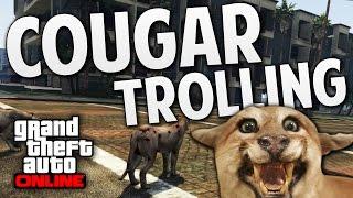 GTA 5 Online - Cougar Trolling (GTA 5 Funny Moments)