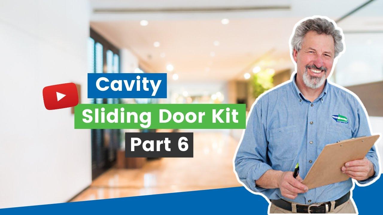Cavity Sliding Door Kit Part 6 Fitting The Bottom Draught