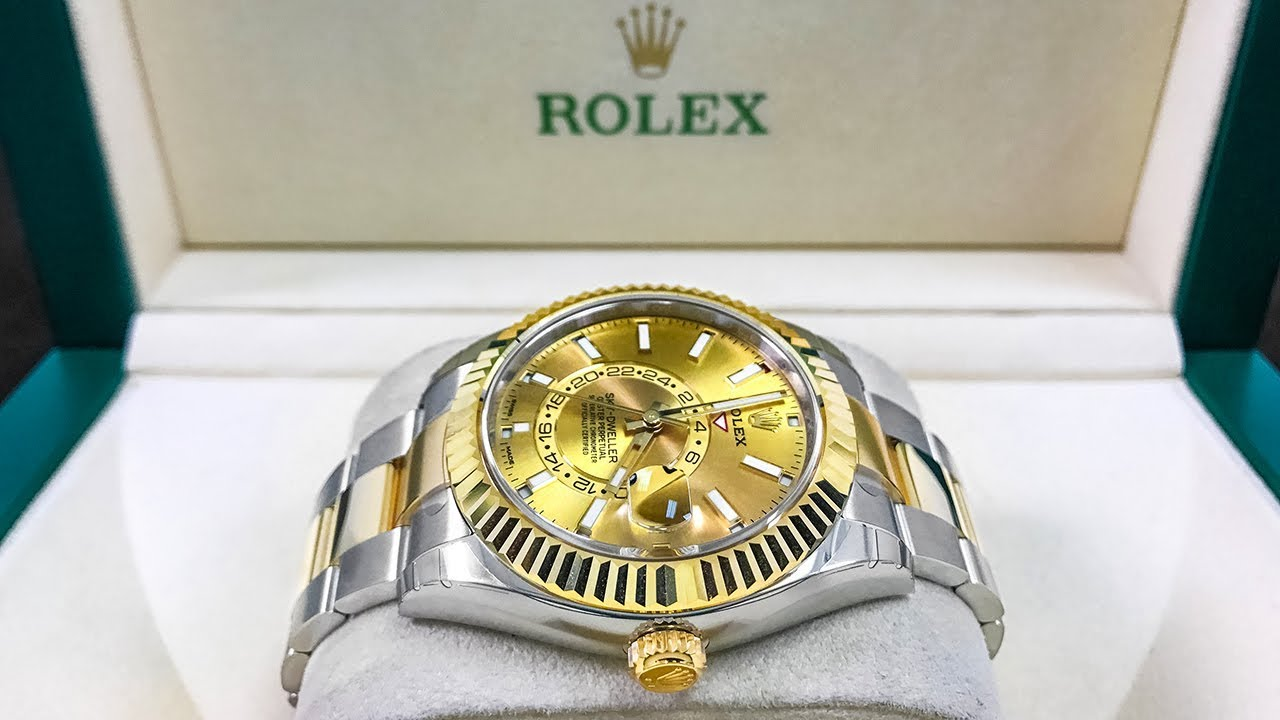 New Rolex Sky,Dweller \u2013 Two Tone Version \u2013 Introduced in Baselworld 2017