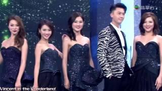2016 Miss Hong Kong 香港小姐 Vincent Wong 王浩信 Cut