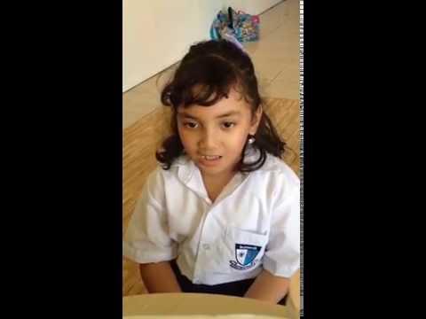 Mars Lazuardi by Syafia (Elementery School Grade 3 - Istiqlal) Makassar