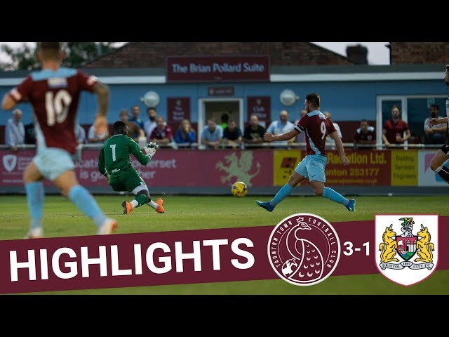 Extended Highlights: Taunton Town 3-1 Bristol City