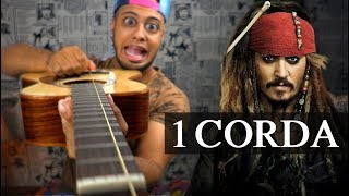 Piratas Do Caribe Com 1 Corda