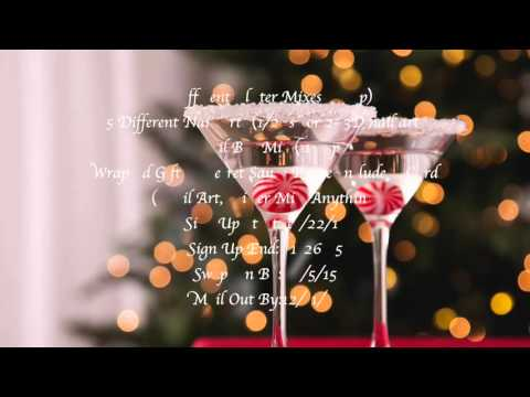 My Candyland Christmas & Christmas Cocktail Drink Swap