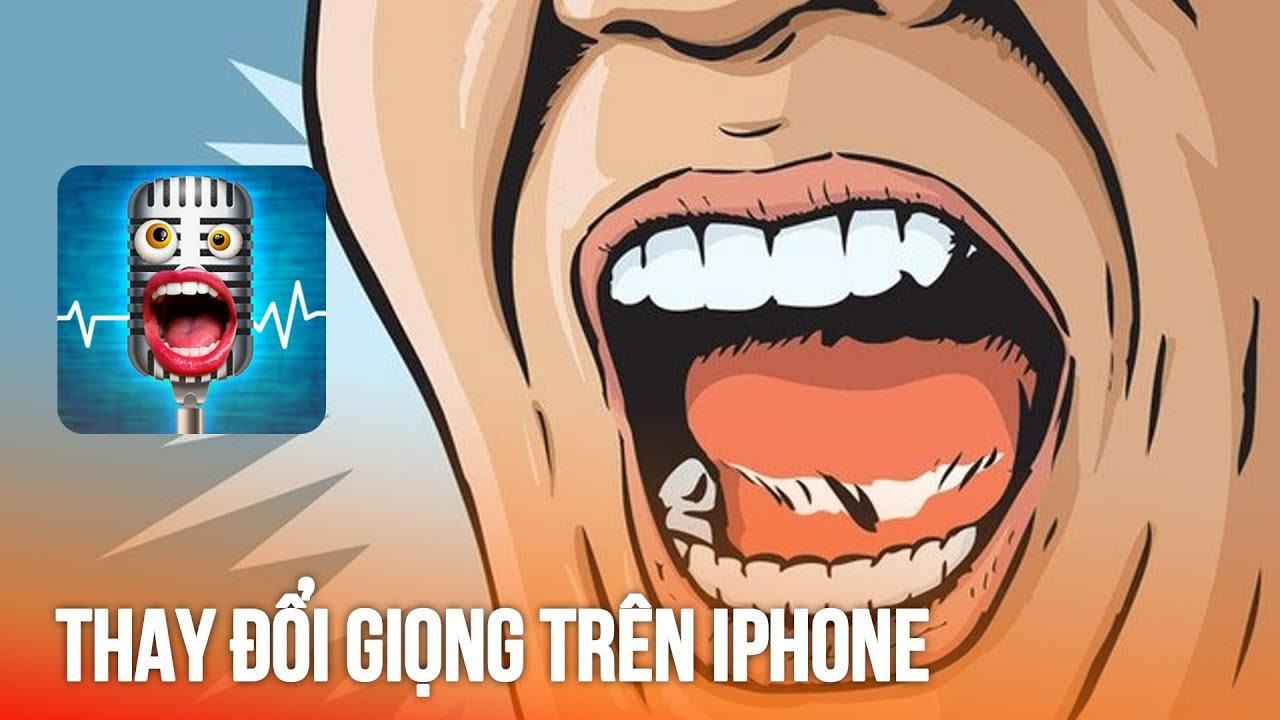 Thay đổi giọng nói trên iPhone để troll bạn bè