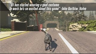 Goat Simulator coming to Steam! - Pre-Order Trailer