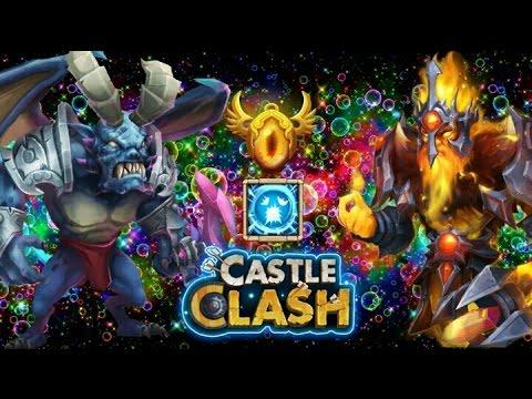 Castle Clash Lava Isle 3!