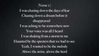The Miracle(Of Joey Ramone)-U2 (Lyrics)