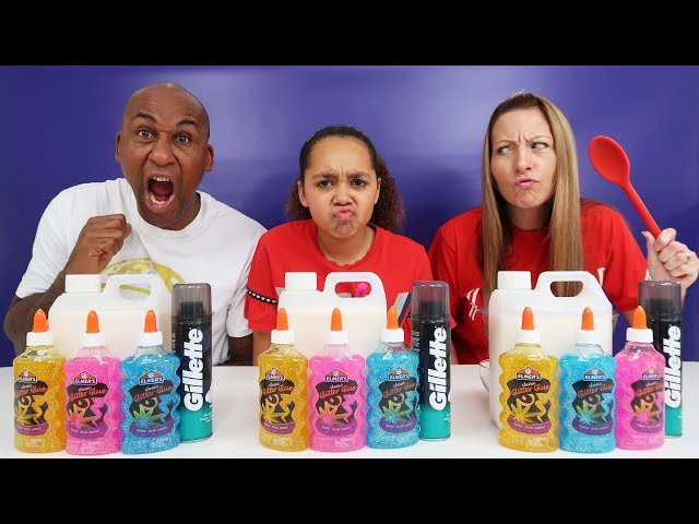 SLIME CHALLENGE!! Whos The Best You Decide?