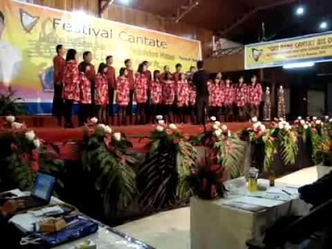 Saint Joe Youth Choir North Sulawesi (Kyrie Capranica)_Cantate Festival 2011