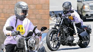 Justin Bieber Revs Our Engines With His New Harley-Davidson Motorcycle