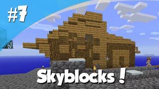 Minecraft Skyblocks #7 - Ons Huis Is Af!