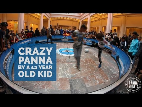 Crazy panna by the 12 year old Mehdi Amri   Engie Street Heroes semi-final 2016