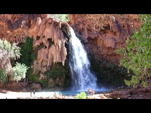 The Havasu Canyon Trail - Havasupai Indian Reservation, Grand Canyon (in HD)