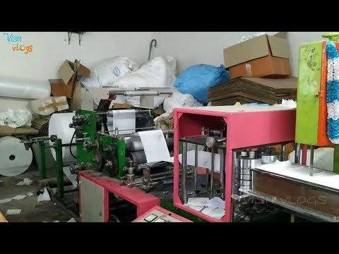 Tissue Paper Making Machine | Tissue Paper Manufacturing Process, Paper Napkin Making Machine